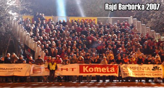 Rajd Barbórka 2007