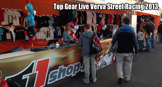 Top Gear Show Verva Street Racing 2013